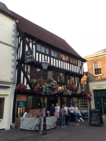 16th century inn tucked away in the corner of Newark Market Place