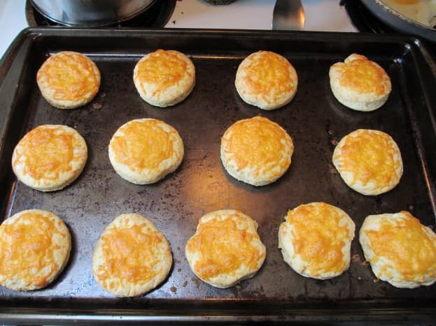 Delicious biscuits, ready to eat!