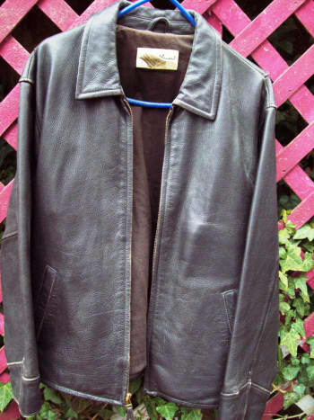 Help a tired-looking leather jacket come back to life by cleaning it with natural products.
