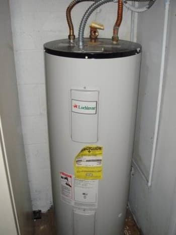 Use a water heater to heat your outdoor shower.