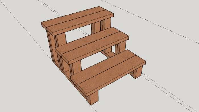 Basic design extended to three steps