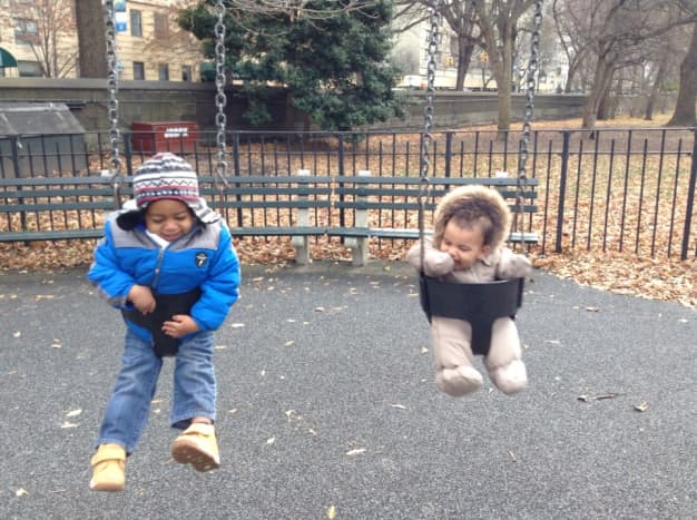Having access to fun and safe playgrounds is essential for our family.
