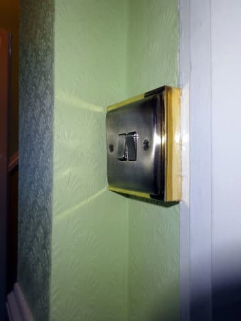 New stylish two-way switch for operating both upstairs and downstairs lights