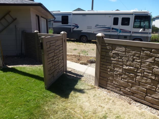 Gate installed.