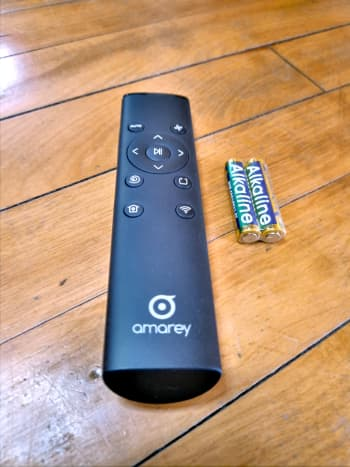 Remote control for Amarey A980 Robotic Vacuum Cleaner