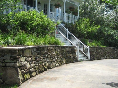 How To Build A Dry Stack Stone Retaining Wall The Right Way Dengarden Home And Garden