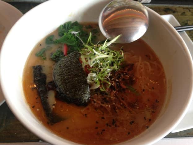 Ramen from Toki Underground: a ramen bar in Washington DC, my inspiration for creating my own ramen at home.