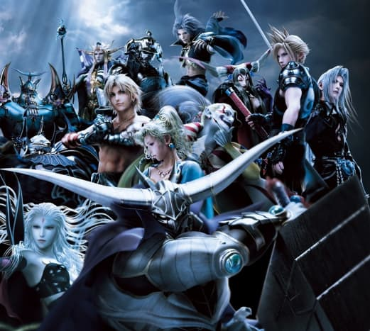 Chaos's warriors in Dissidia 012