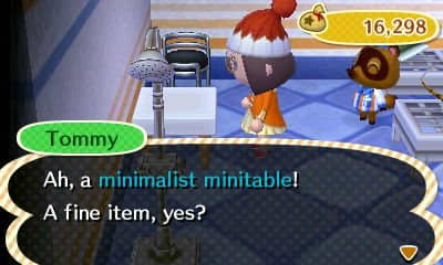 The Nookling store always has some furniture in stock, and the items change daily.