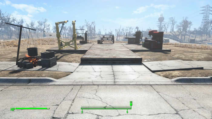 """With the, """"Clean and Clear: Sanctuary Hills"""" MOD, you get a clean slate for your settlement build area."""