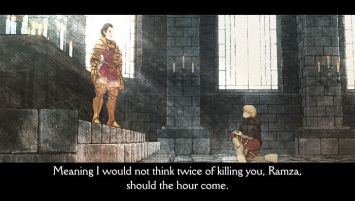 The entire game is full of great exchanges, but the cutscenes have some of the best.