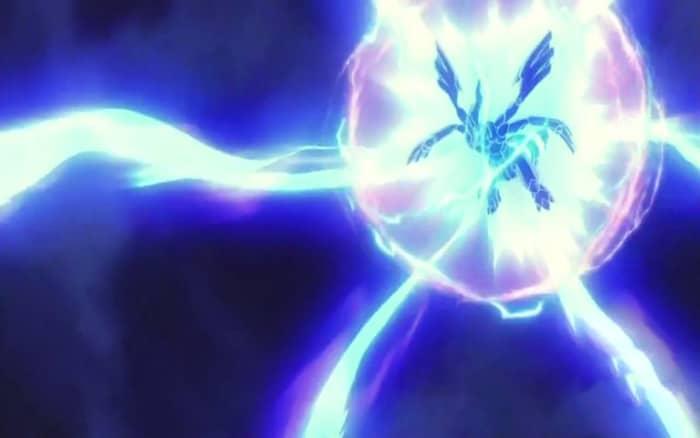 Zekrom using Fusion Bolt