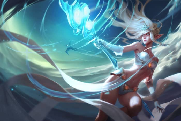 The definition of disengage, Janna is the #1 pick to counter teams that aim to engage hard, particularly with a wombo combo.