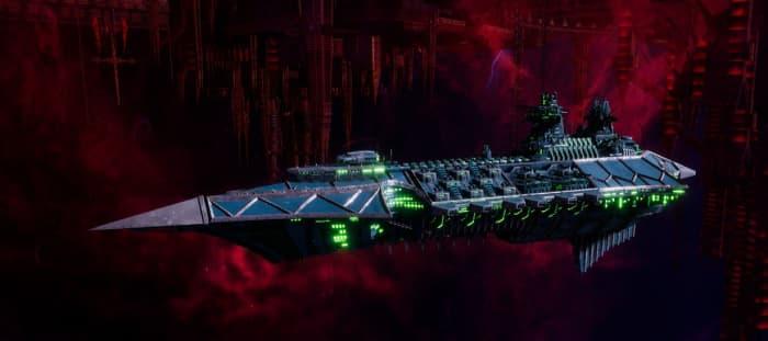 Chaos Cruiser - Emasculator  (Alpha Legion)