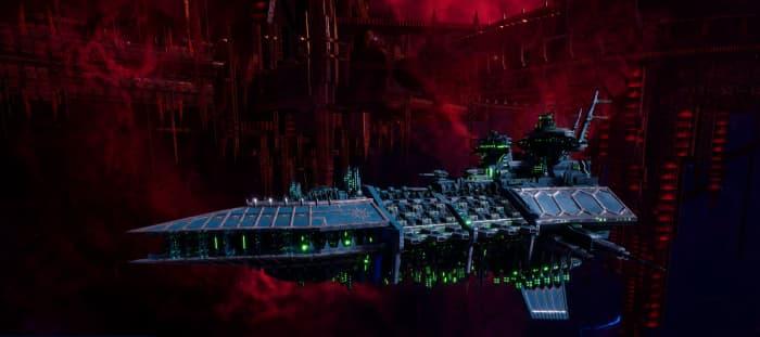 Chaos Grand Cruiser - Hellfire (Alpha Legion)