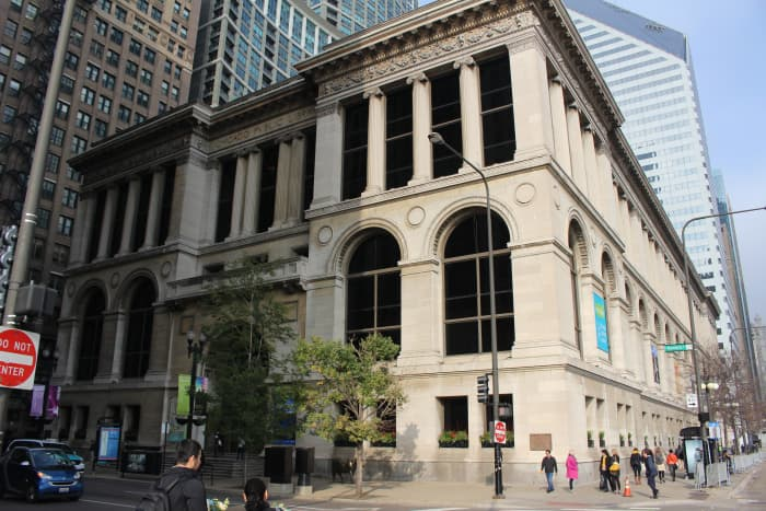 The Chicago Cultural Center, picture taken during my November 2016 trip.