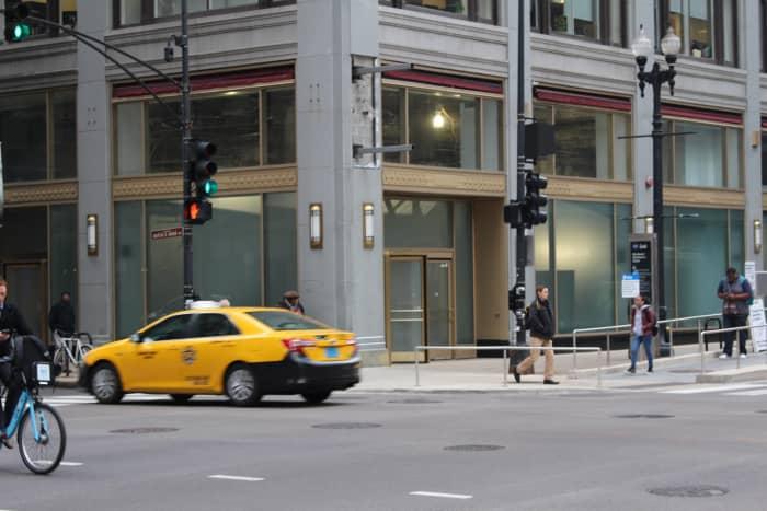 The street corner where Antonio Lombardo was gunned down.