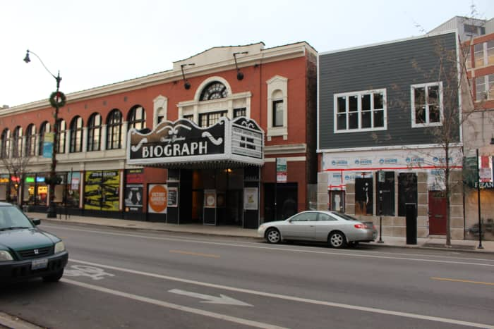 The Biograph Theater. Picture taken in December 2015. On a side note I have regrettably only have been to this part of Chicago once.