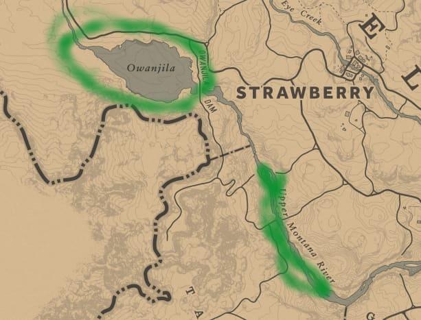 West Elizabeth Beaver locations. Owanjila, of course, is the best bet.