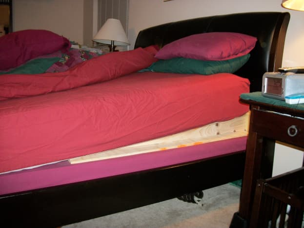 My bed wedge
