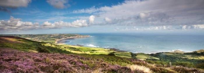Ravenscar - the southern headland of Robin Hood's Bay, near Scarborough, Yorkshire