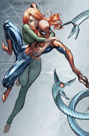 Spiderman cover by J Scott Campbell