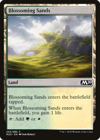 Blossoming Sands mtg