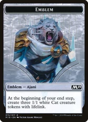 Ajani, Adversary of Tyrants Emblem