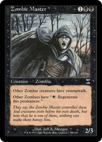 Zombie Master mtg