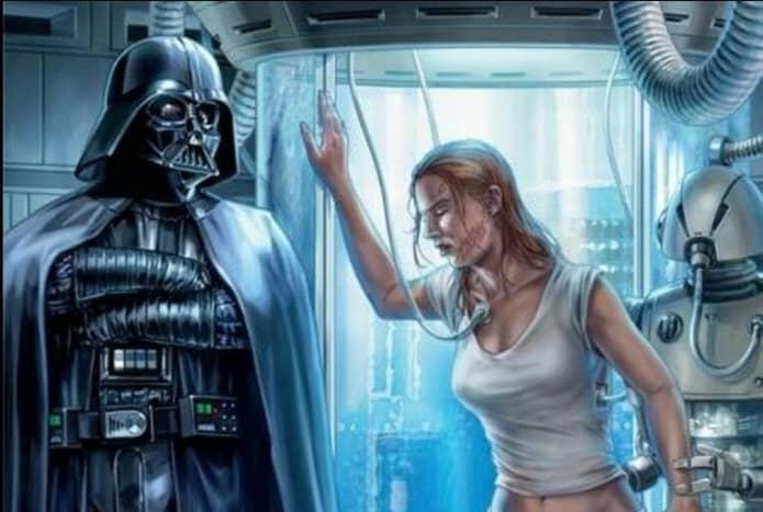 Darth Vader and Shira Brie