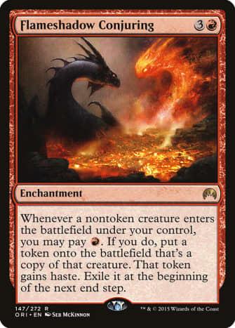 Flameshadow Conjuring mtg