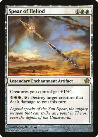 Spear of Heliod mtg