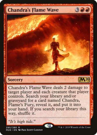 Chandra's Flame Wave mtg