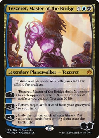 War of the Spark's Tezzeret promo