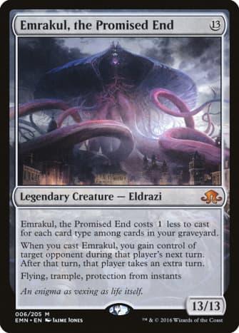 Emrakul, the Promised End mtg