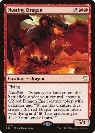 Nesting Dragon mtg