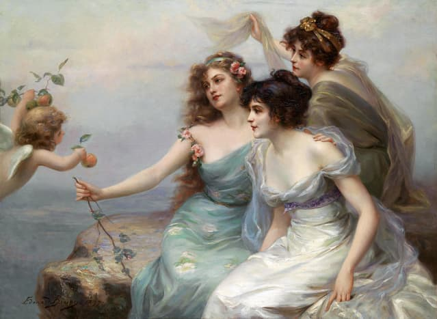 Painting - Edouard Bisson (1899).