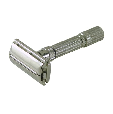 """The Gillette """"Fatboy"""", their most famous adjustable safety razor."""