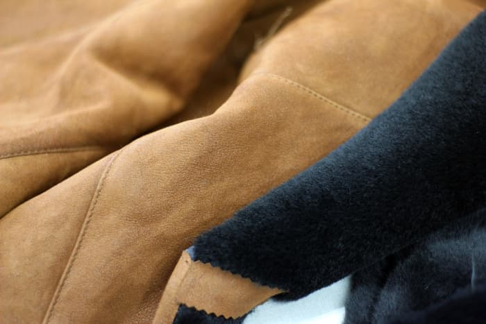Store suede in a dark place to keep colors from fading.