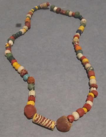 Early Middle Ages beads circa 700 - German