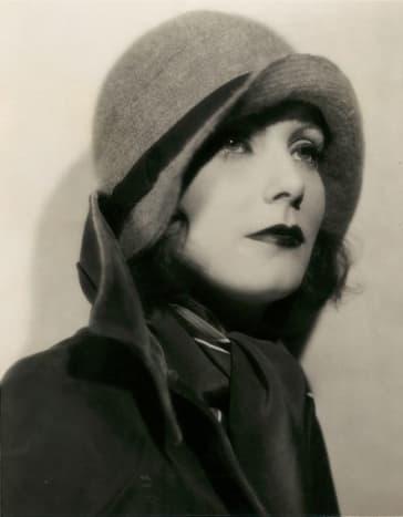 Greta Garbo in Cloche Hat circa 1920