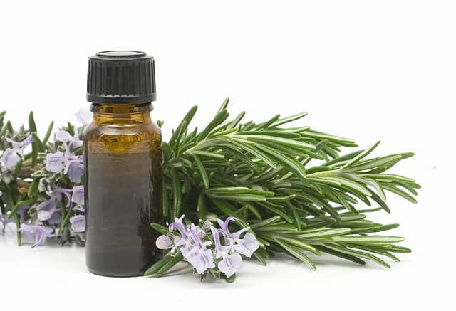 An essential oil made from rosemary