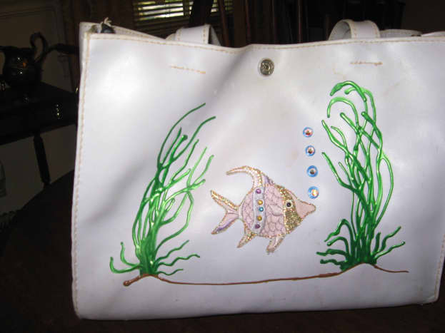 Handbags can be embellished, too.