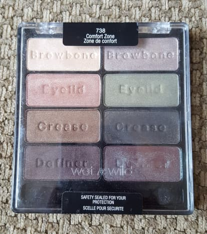 Wet N Wild Comfort Zone definitely has the flimsiest and least attractive packaging on this list, but for $4.99, it's hard to argue with the quality of the buttery, super pigmented shadows.