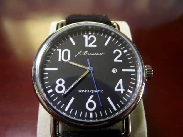 J. Brackett Camden Quartz Watch
