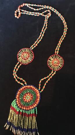 Native American Juniper/cedar seed Necklace.