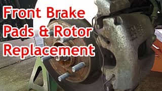 ford-escape-front-brake-pads-rotors-replacement-service