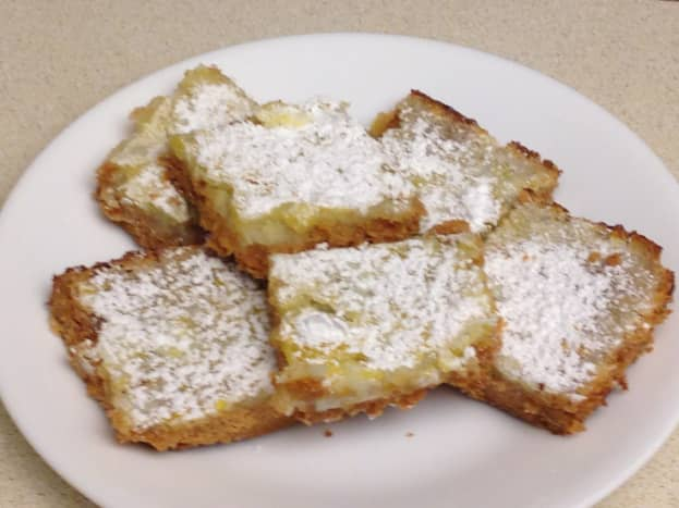 Love the Mama Lemon Bars require just a few simple ingredients.