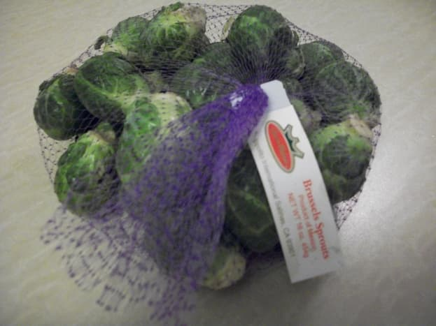 1 lb raw brussel sprouts