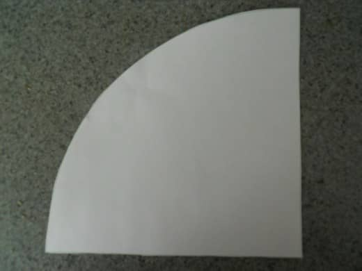 Cut out template.